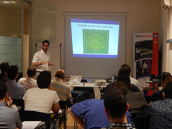 Mario Savo: corso Match Analyst - Istituti Professionali