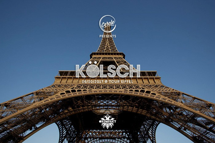 Dj Kölsch in esibizione sulla Torre Eiffel il 16 ottobre istituti professionali 1