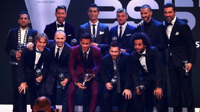 fifa football awards 2017 istituti professionali 2